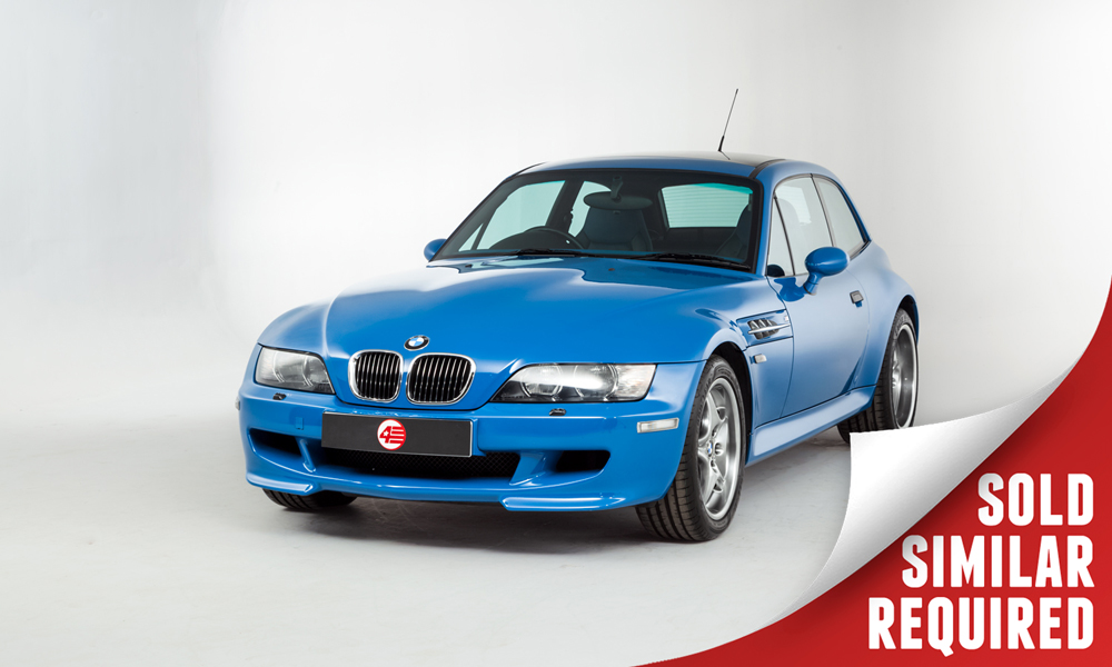 BMW Z3M Coupe S54 blue SOLD