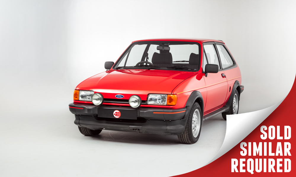 Ford Fiesta XR2 Mk2 red SOLD