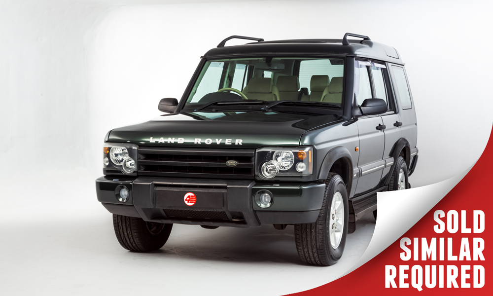 Land Rover Discovery V8 green SOLD