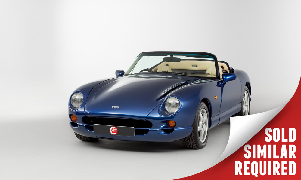 TVR Chimaera 400 blue SOLD
