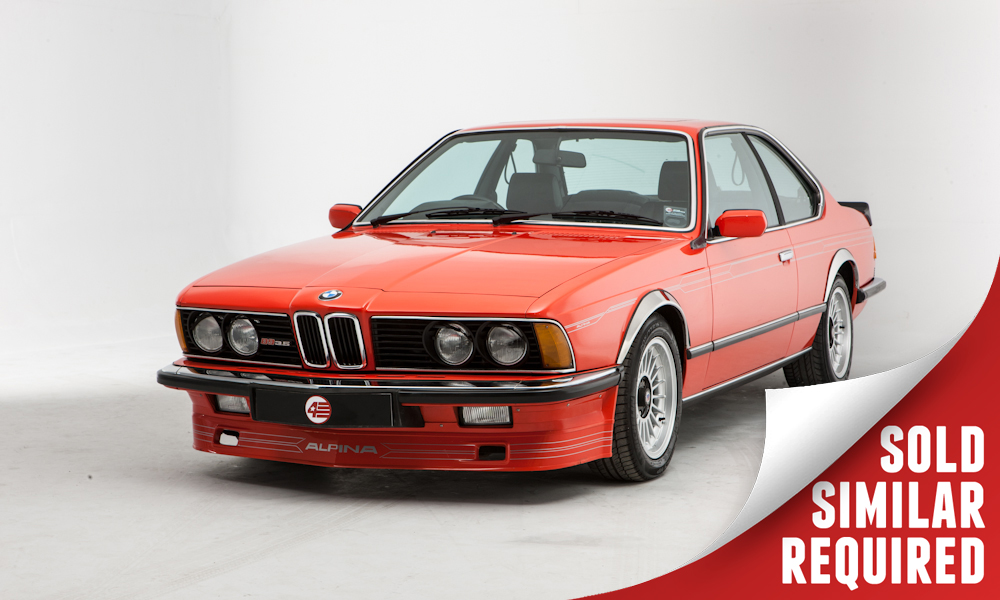 Alpina B9 Coupe red SOLD