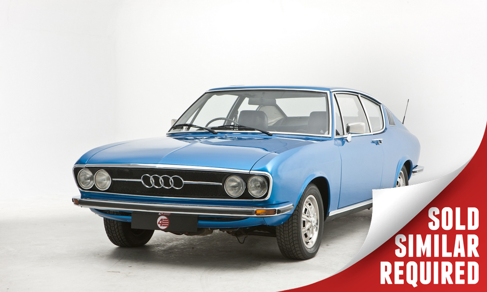 Audi 100 Coupe S blue SOLD