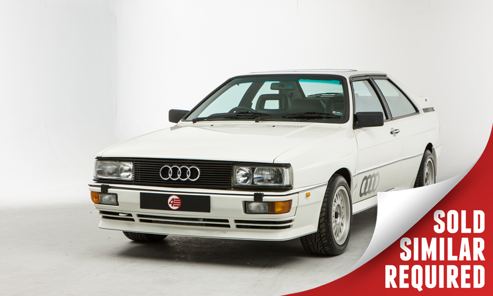 Audi UR Quattro white SOLD2