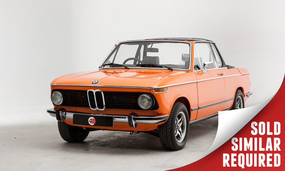 BMW 2002 Baur orange SOLD