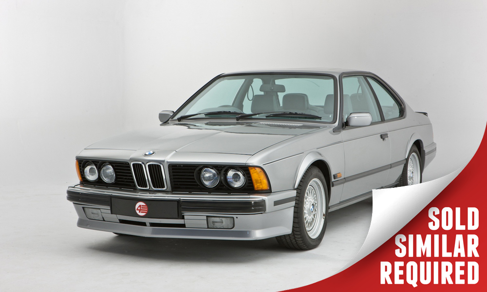 BMW 635 CSI Highline silver SOLD2