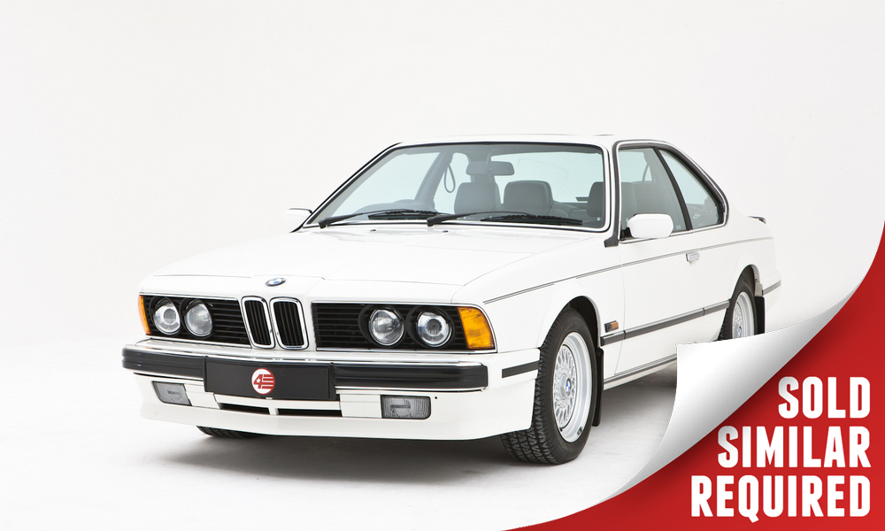 BMW 635 CSI Highline white SOLD