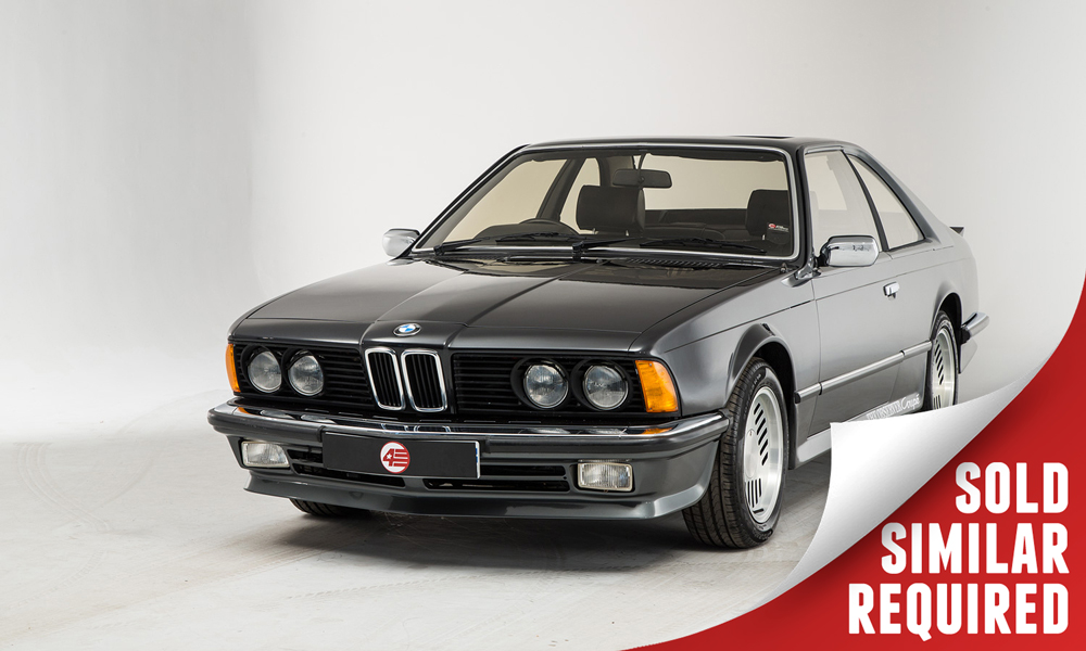 BMW 635 CSI Observer Coupe black SOLD