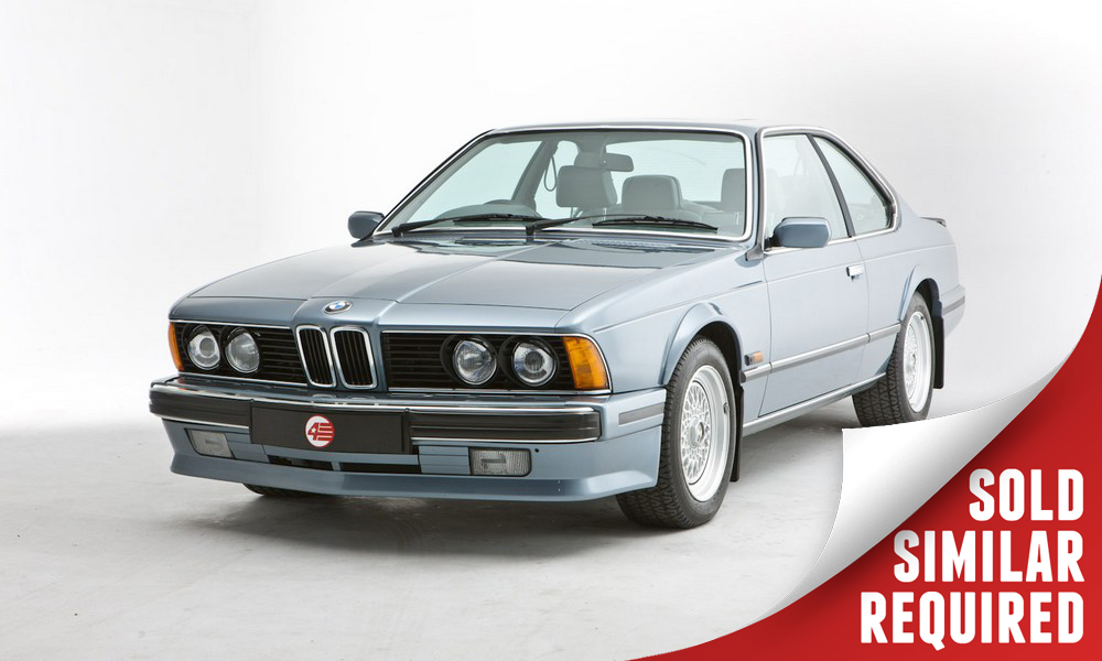 BMW 635 CSI blue SOLD4