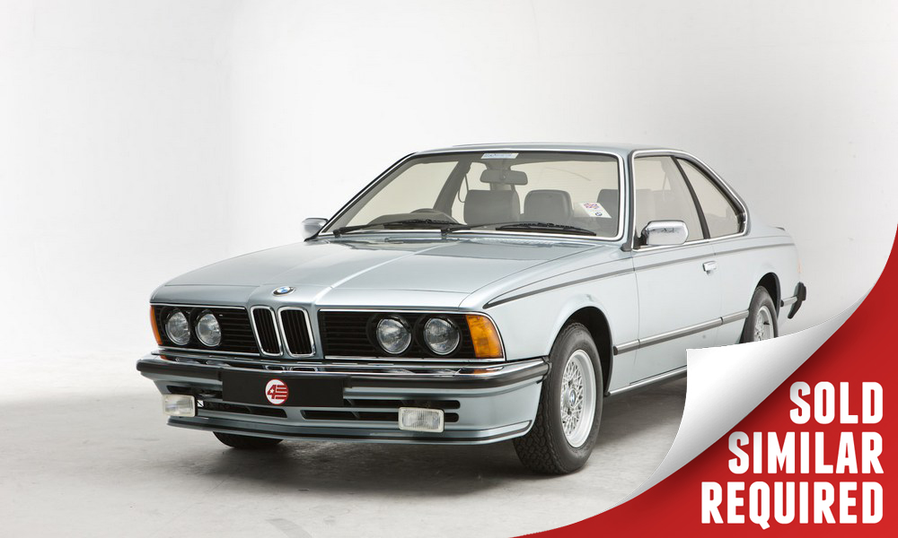 BMW 635 CSI blue SOLD5