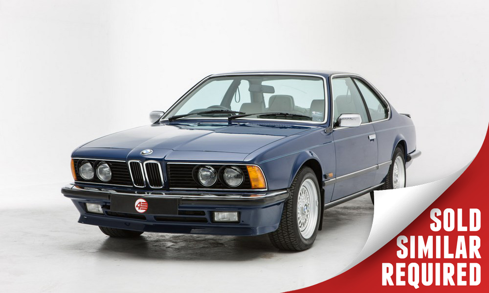 BMW 635 CSI blue SOLD6