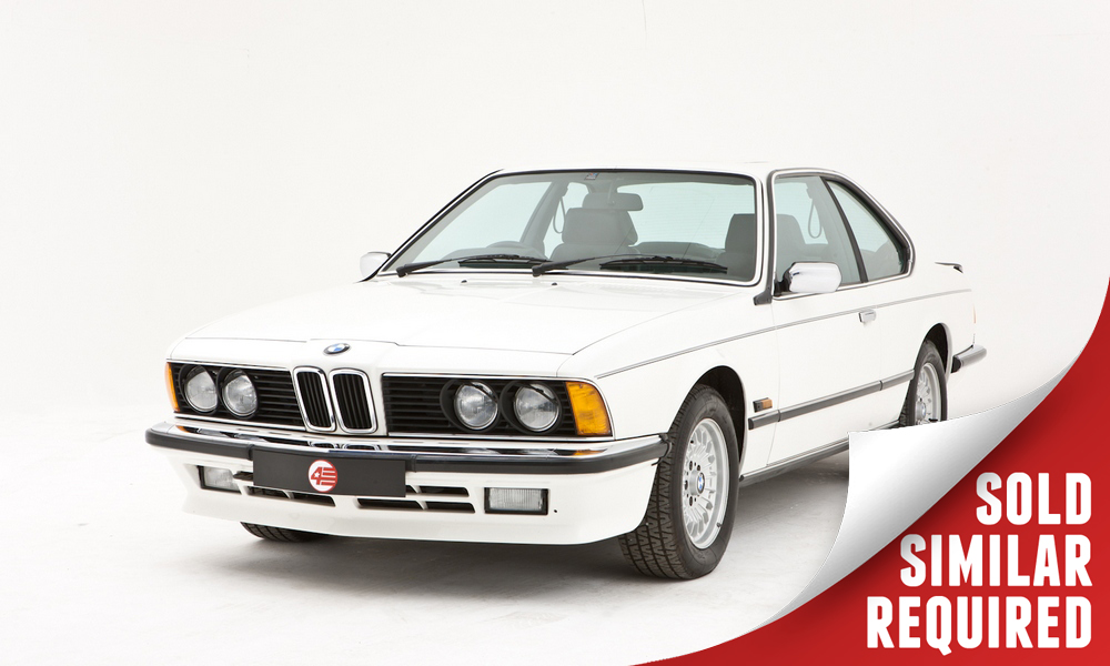 BMW 635 CSI white SOLD