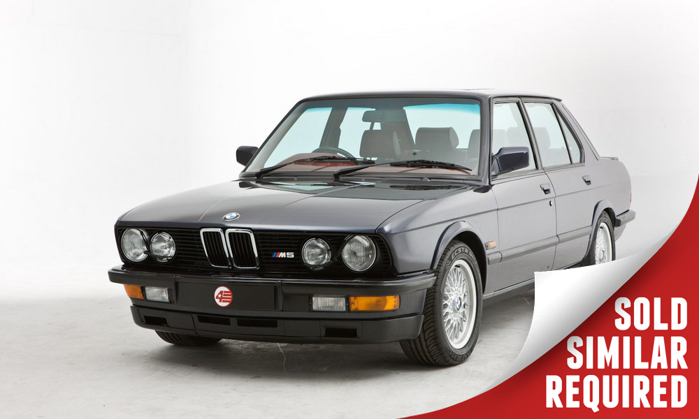 BMW E28 M5 blue SOLD