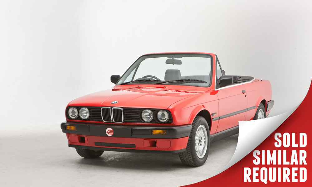 BMW E30 318i Cabriolet red SOLD2