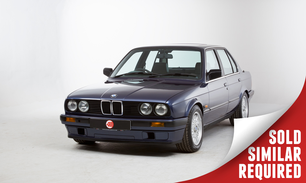 BMW E30 320i blue SOLD