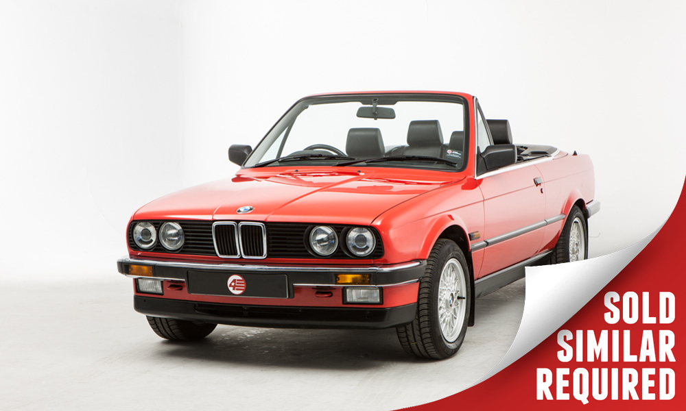 BMW E30 325i Cabriolet red SOLD2