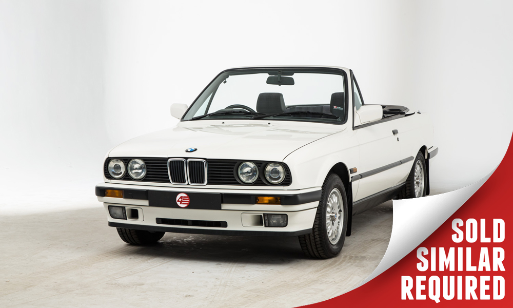 BMW E30 325i Cabriolet white SOLD6