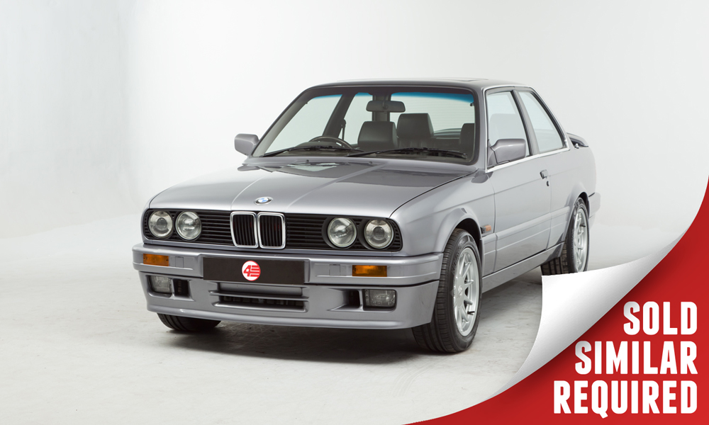 BMW E30 328i grey SOLD