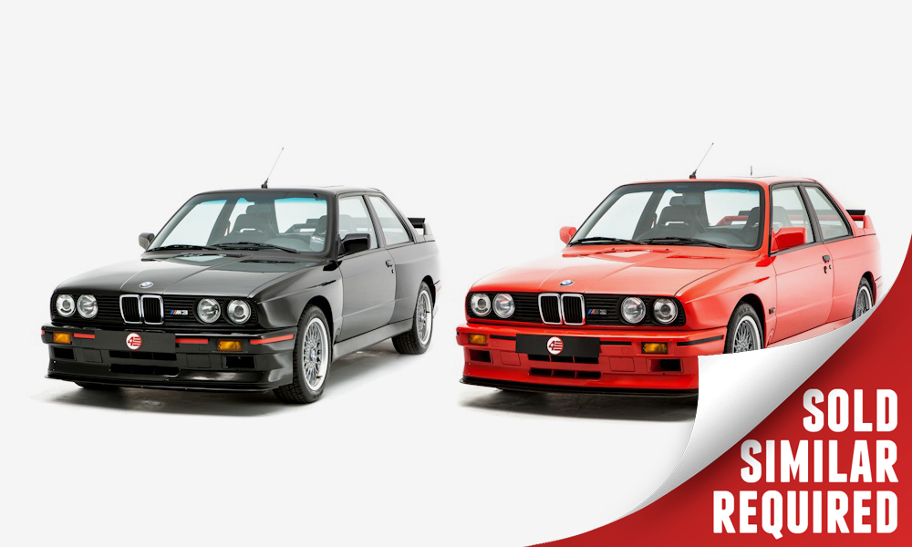 BMW E30 M3 Sport Evolutions pair SOLD