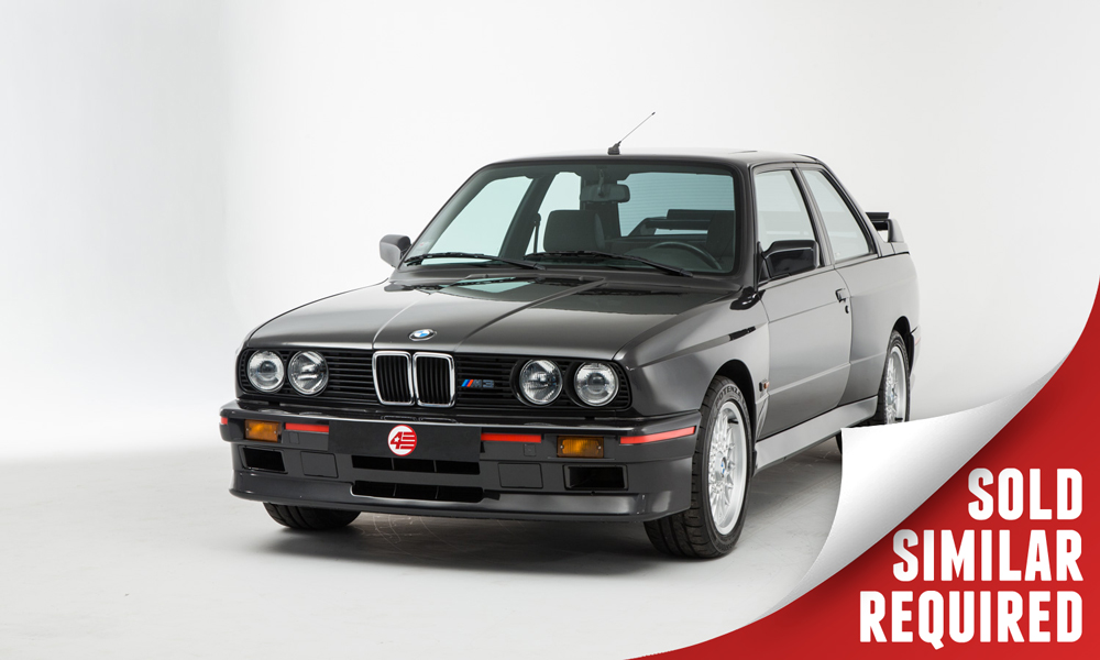 BMW E30 M3 black SOLD6