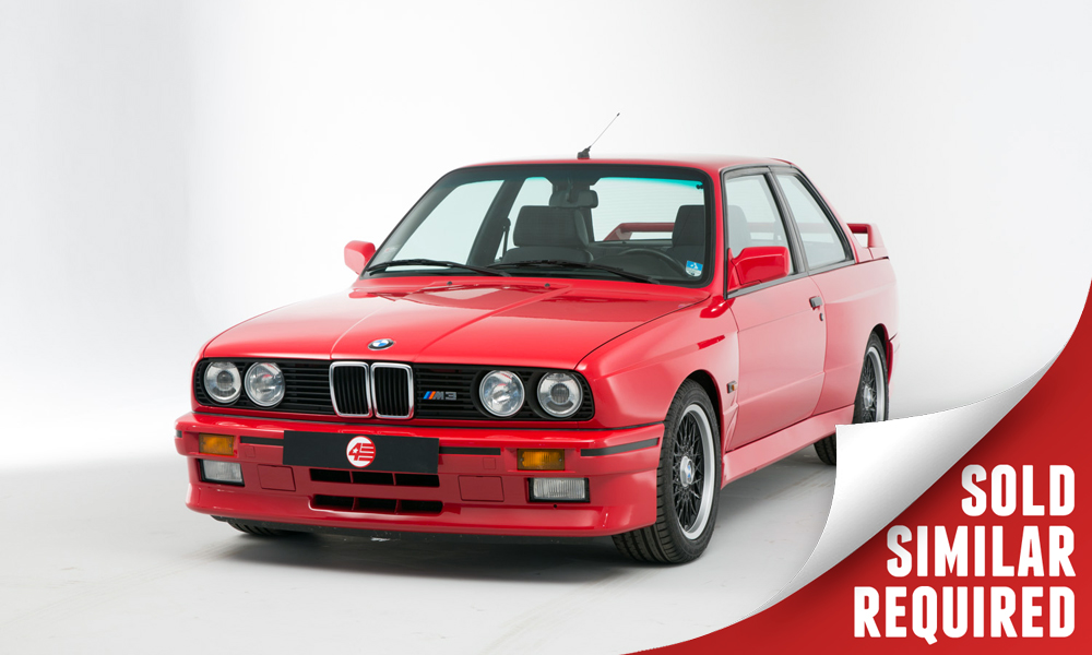BMW E30 M3 red SOLD3
