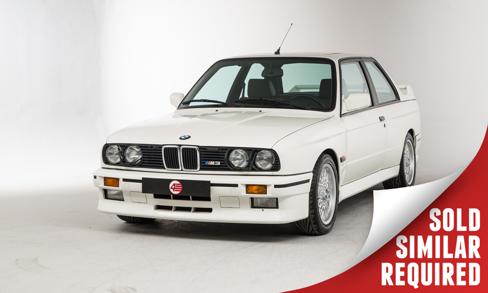 BMW E30 M3 white SOLD