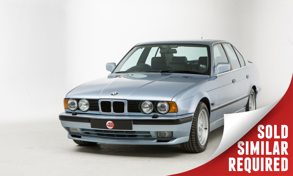 BMW E34 535i Sport blue SOLD