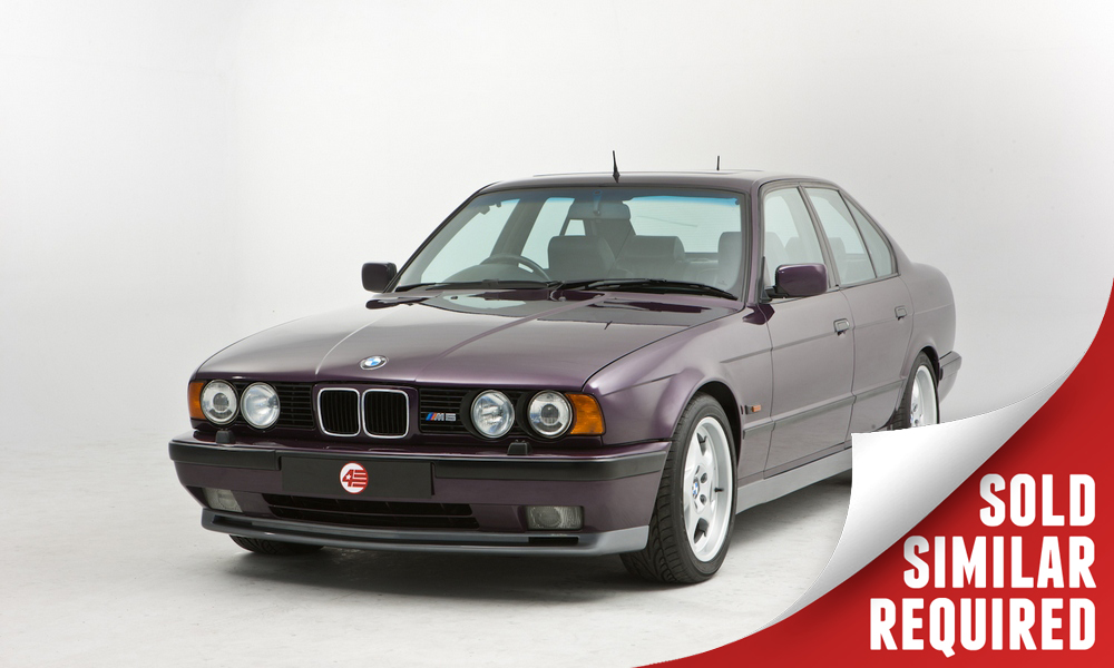 BMW E34 M5 purple SOLD
