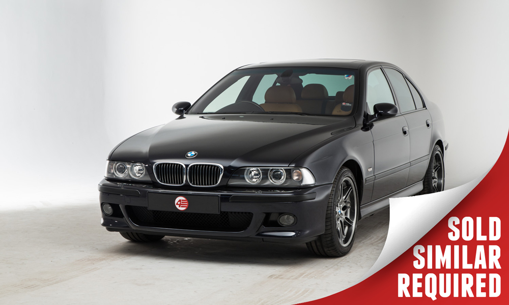BMW E39 M5 black SOLD2
