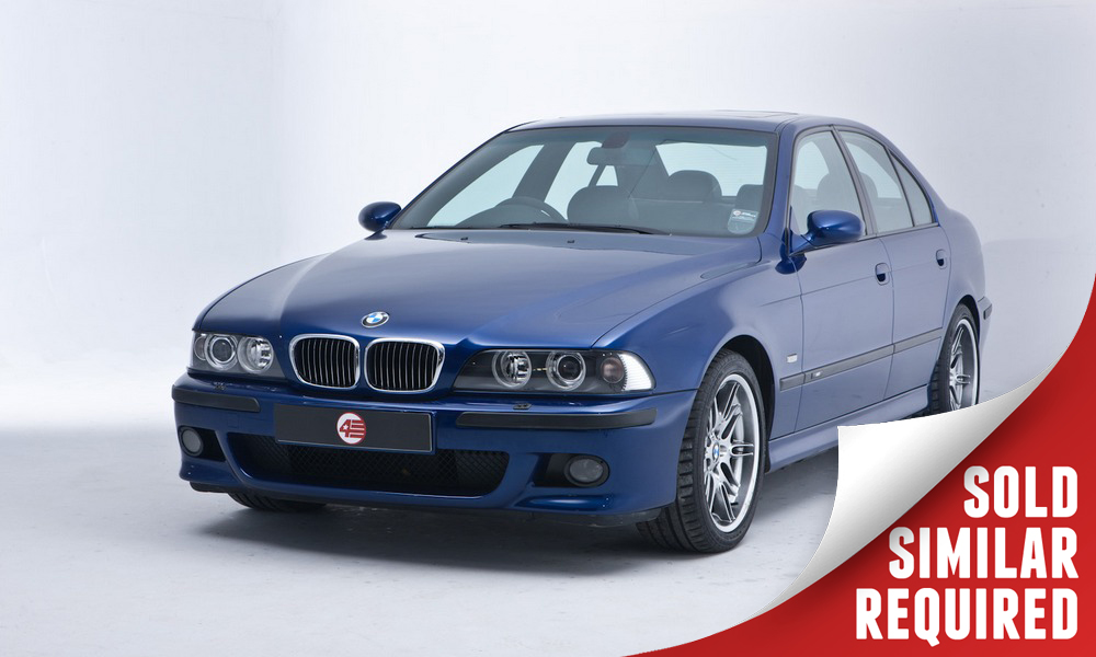 BMW E39 M5 blue SOLD