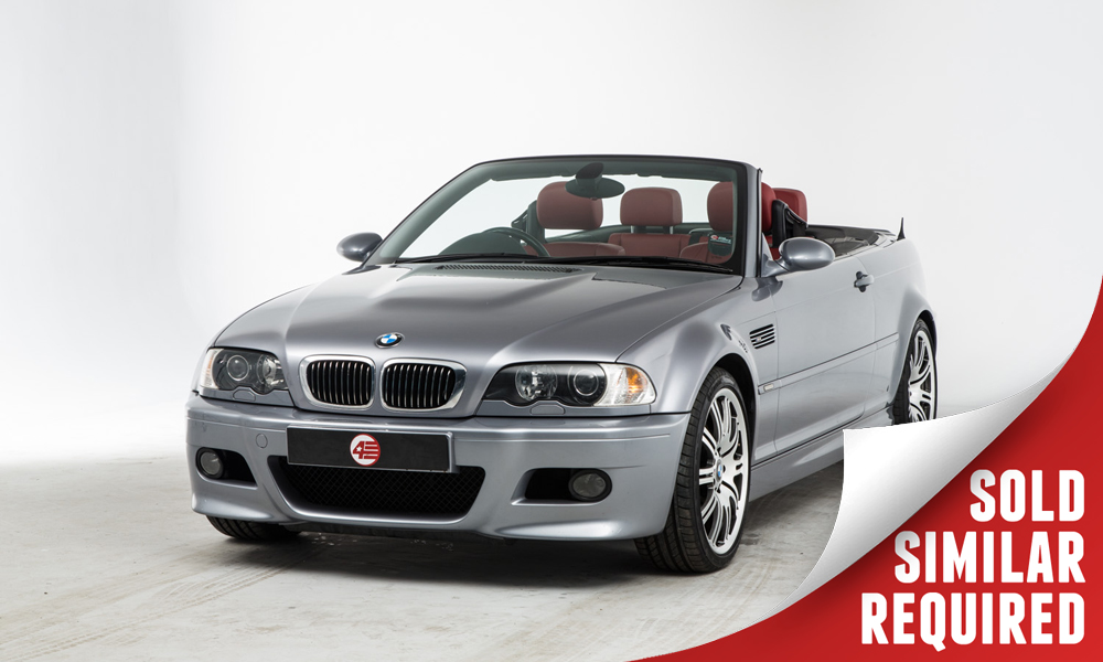 BMW E46 M3 Cabriolet grey SOLD