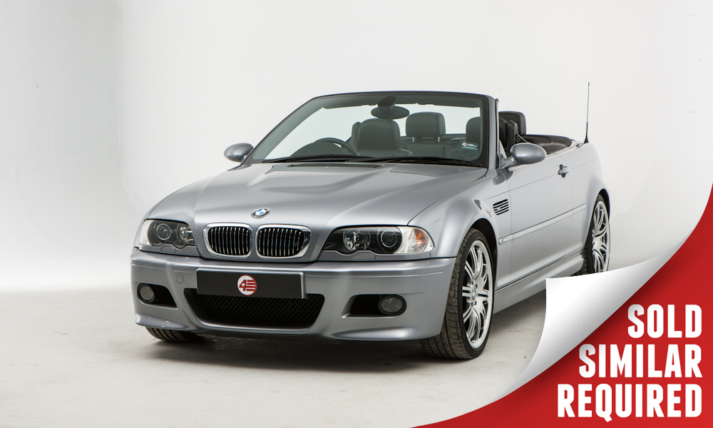 BMW E46 M3 Convertible grey SOLD