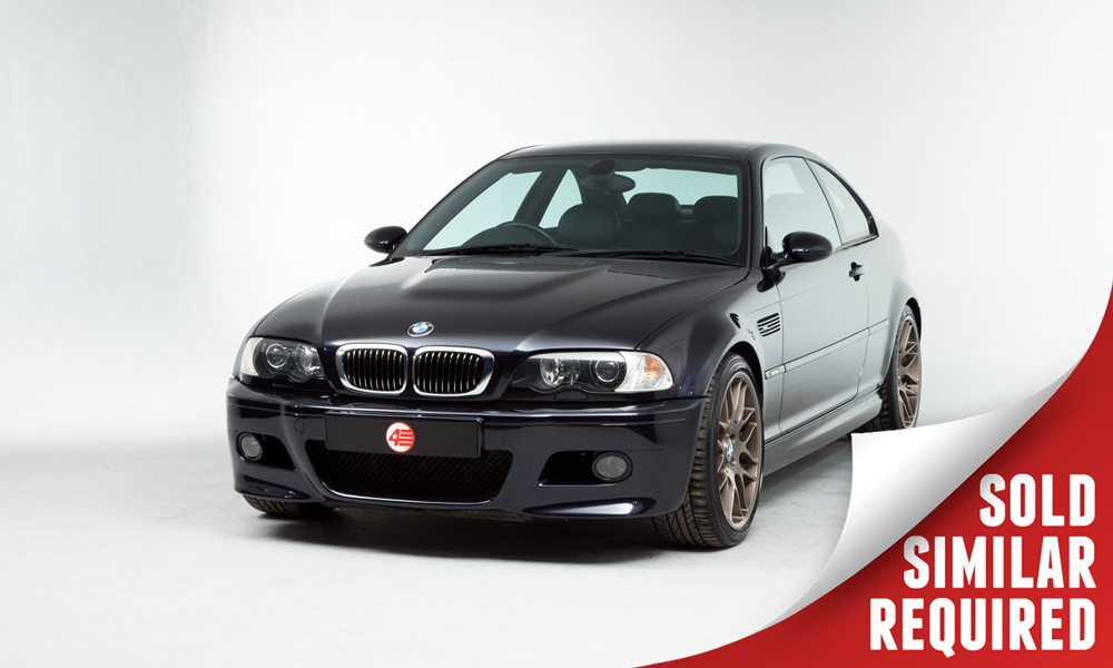 BMW E46 M3 black SOLD