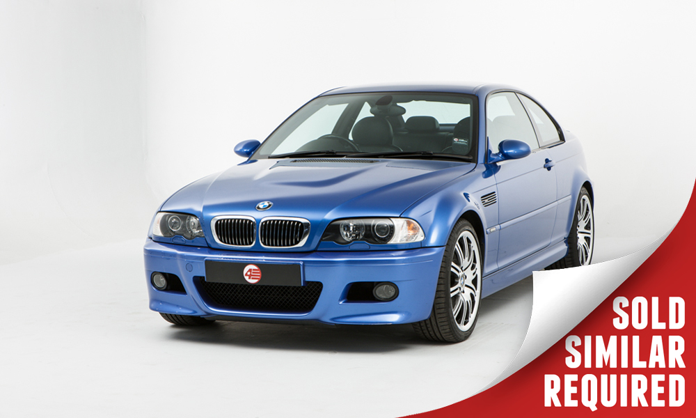 BMW E46 M3 blue SOLD2
