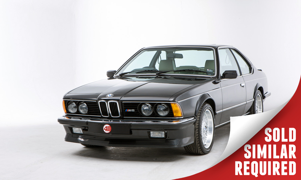 BMW M635 CSI black SOLD2