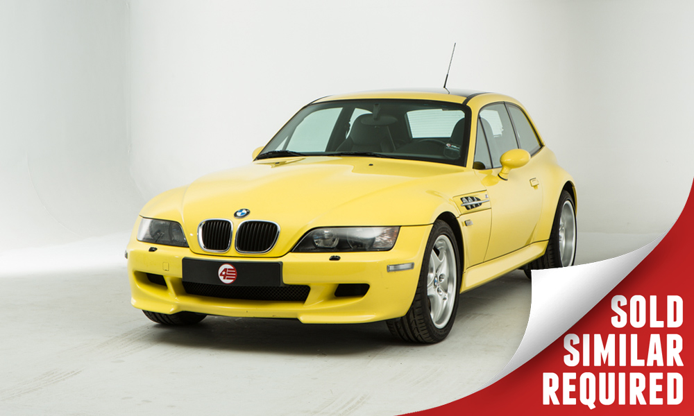 BMW Z3M Coupe yellow SOLD