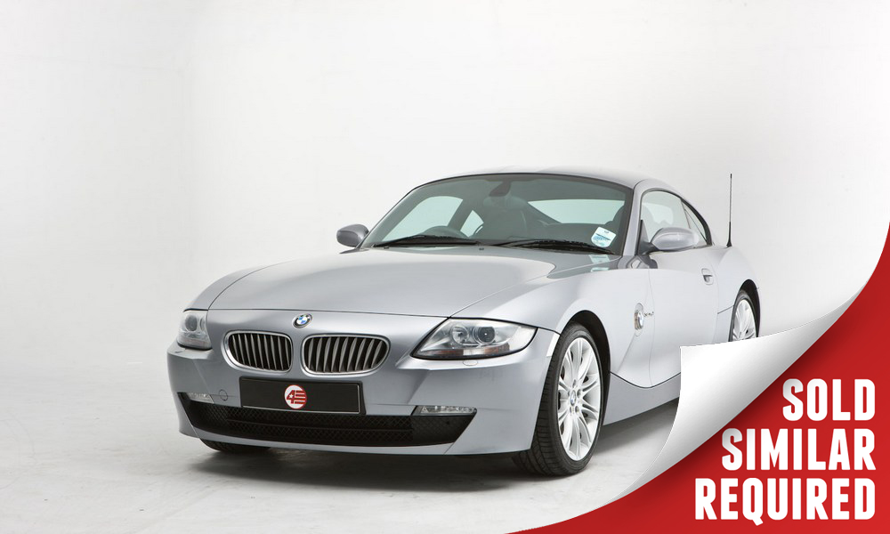 BMW Z4 Coupe silver SOLD