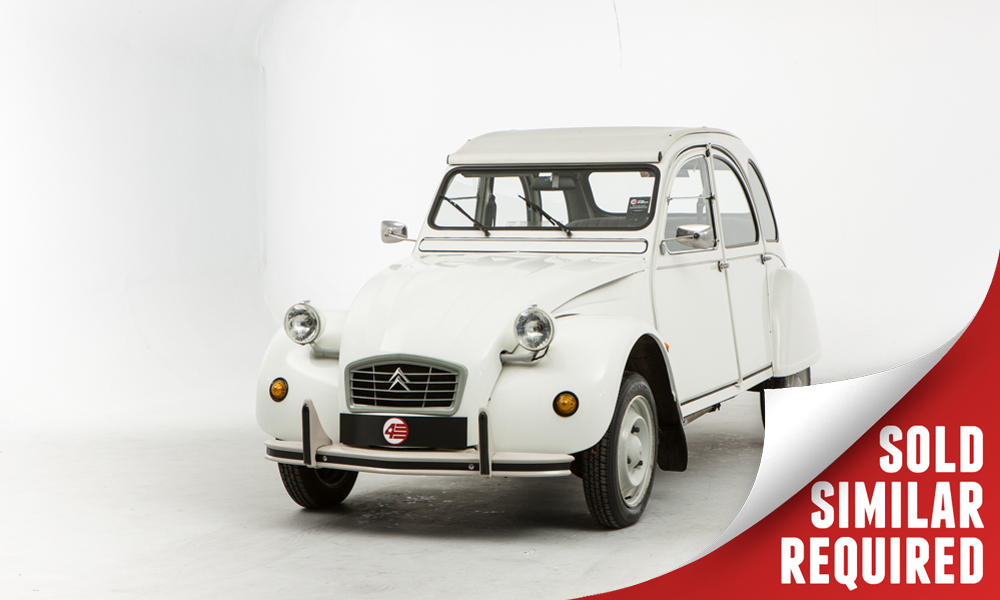 Citroen 2CV Special white SOLD