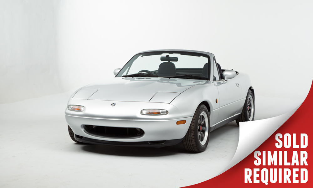 Eunos Roadster 1.8 silver SOLD
