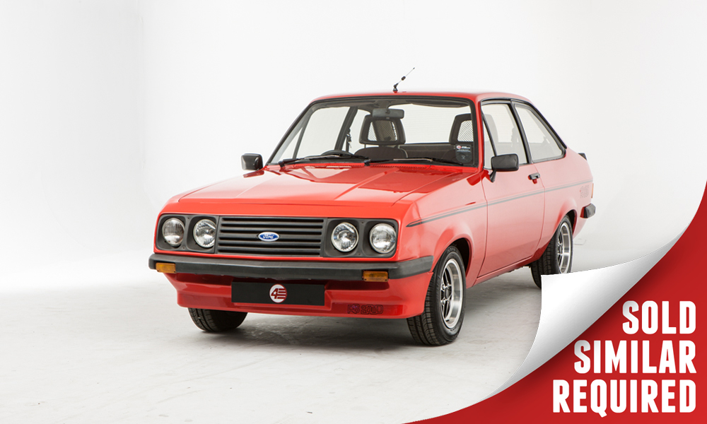 Ford Escort RS2000 Custom red SOLD3