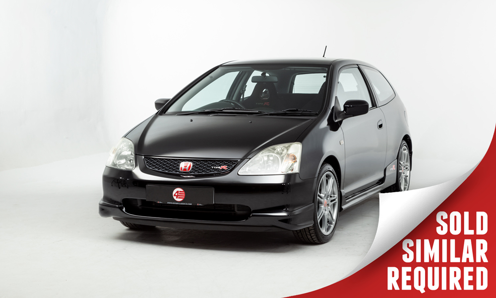 Honda Civic Type R black SOLD