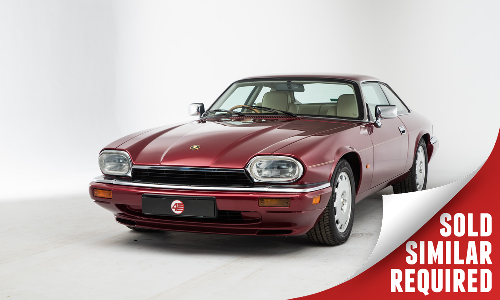 Jaguar XJS Celebration red SOLD2