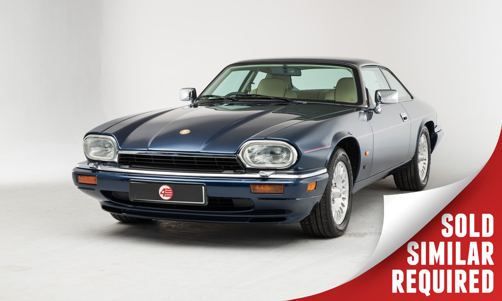 Jaguar XJS V12 blue SOLD