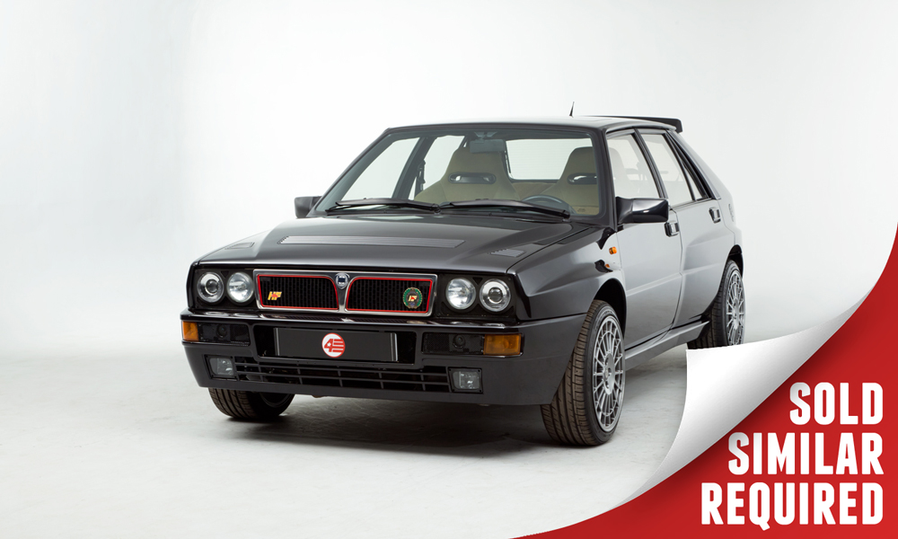 Lancia Delta HF Integrale Evo I black SOLD