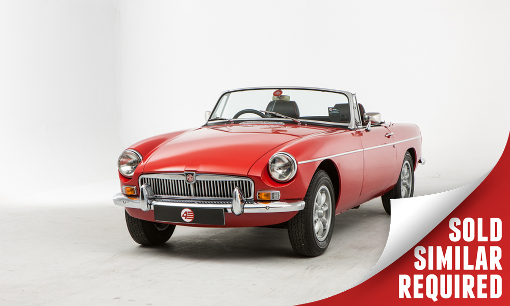 MGB Roadster red SOLD