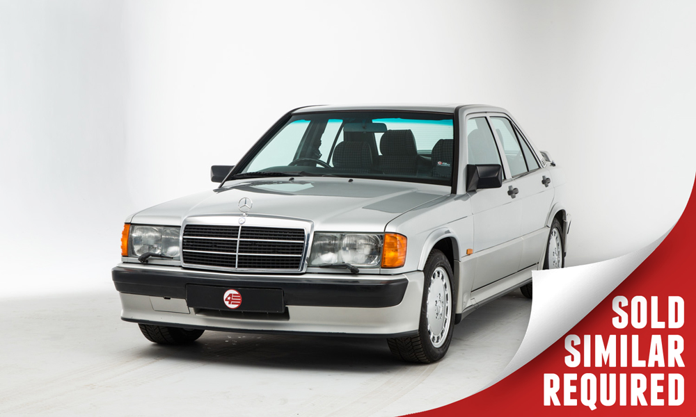 Mercedes 190E 2.5 16 Cosworth silver SOLD
