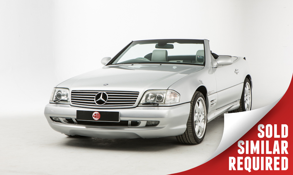 Mercedes R129 SL500 Silver Arrow silver SOLD