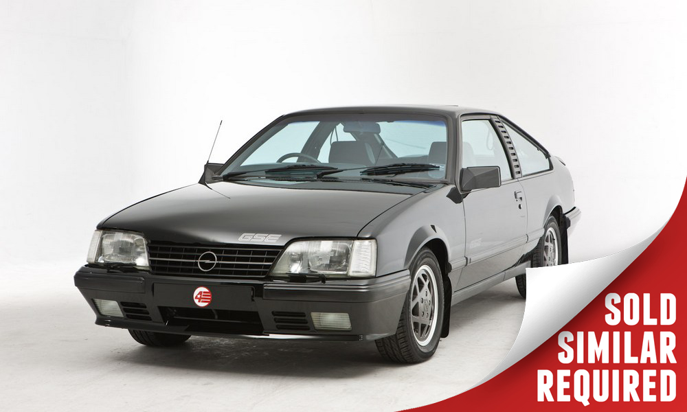 Opel Monza GSE black SOLD