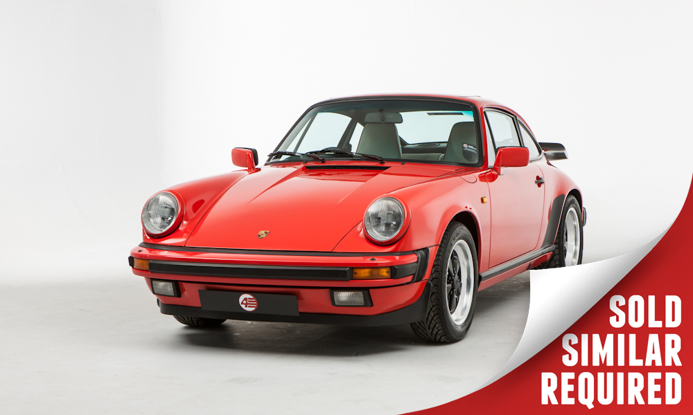 Porsche 911 Carrera Sport red SOLD