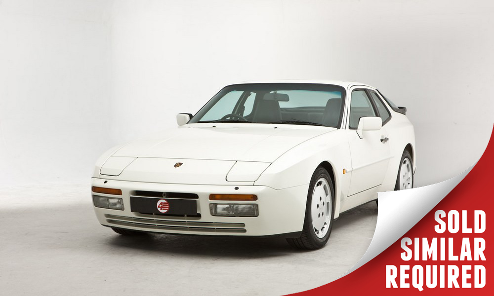 Porsche 944 Turbo white SOLD2