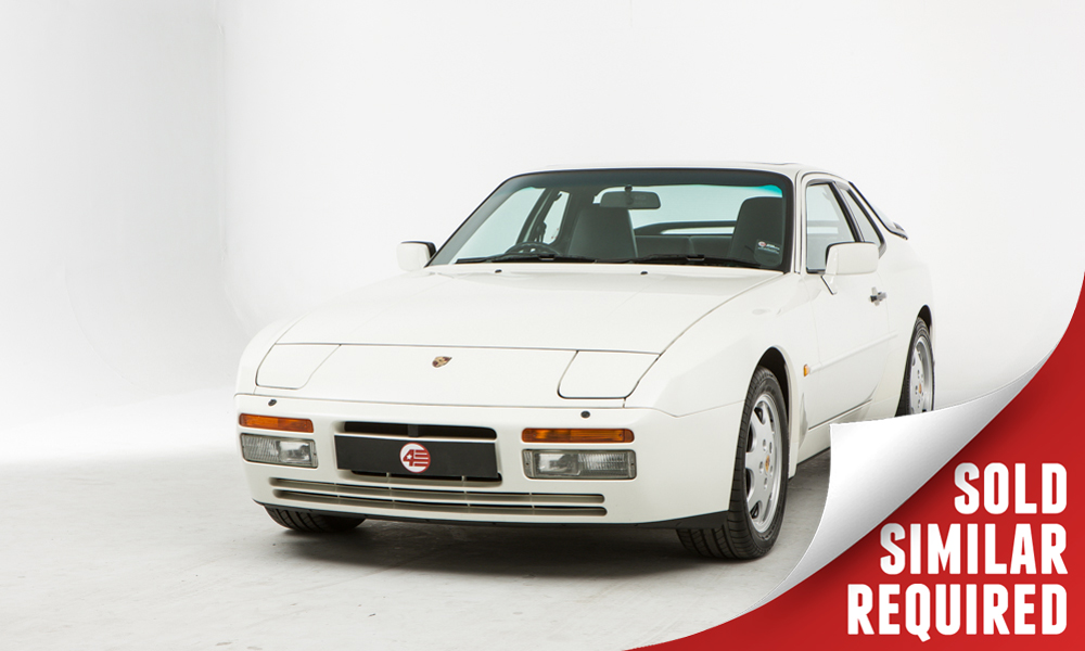 Porsche 944 Turbo white SOLD3